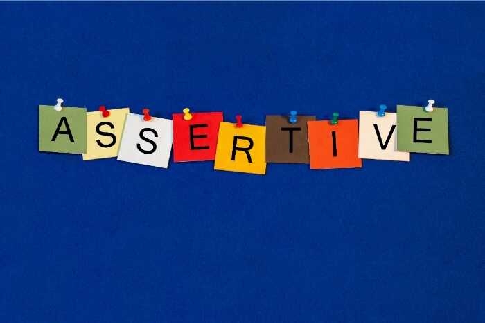 assertive in marriage
