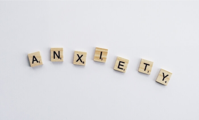 difference between anxiety and fear